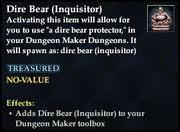 Dire Bear (Inquisitor)
