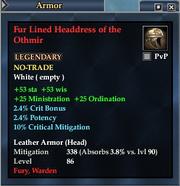 Fur Lined Headdress of the Othmir