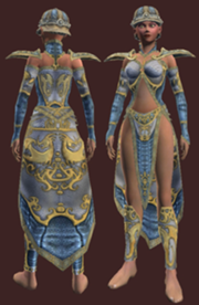 Cloth Armor of Greater Skyshrine (Armor Set) (Visible, Female)
