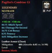 Pugilist's Combine Gi