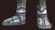 Righteous Augur's Plate Boots (Equipped)