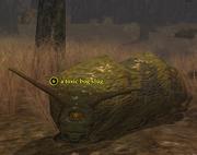 A toxic bog slug
