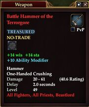 Battle Hammer of the Terrorgore