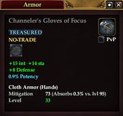 Channeler's Gloves of Focus