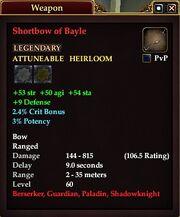 Shortbow of Bayle