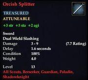 Orcish Splitter