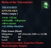 Helm of the Valewatcher