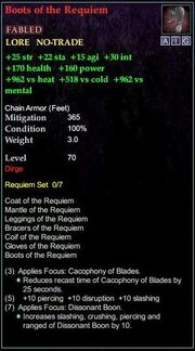 Boots of the Requiem