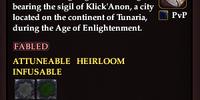Klick'Anon Signet Ring