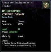 Feng-shui Environmental Reader