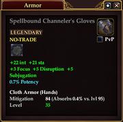 Spellbound Channeler's Gloves