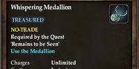 Whispering Medallion