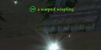 A warped wispling