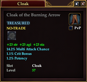 Cloak of the Burning Arrow