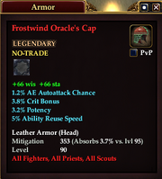 Frostwind Oracle's Cap