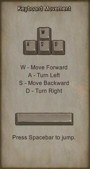 Keyboard tutorial