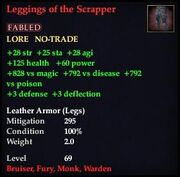 Leggings of the Scrapper