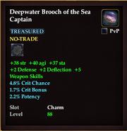 Deepwater Brooch of the Sea Captain