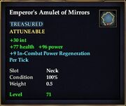 Emperor's Amulet of Mirrors