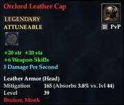 Orclord Leather Cap
