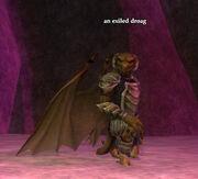 An exiled droag