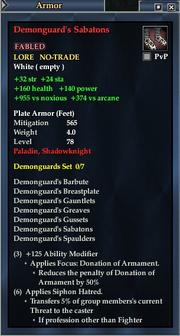Demonguard's Sabatons