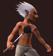 Forged Mace (Equipped)