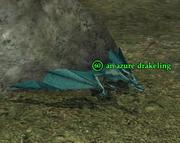 An azure drakeling