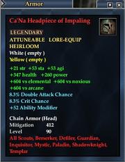 Ca'Na Headpiece of Impaling