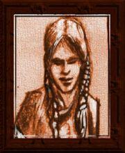 Cloth Portrait (Visible)