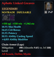 Aphotic Linked Greaves