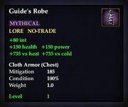 Guide's Robe