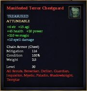 Manifested Terror Chestguard