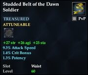 Studded Belt of the Dawn Soldier