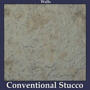 Walls Conventional Stucco