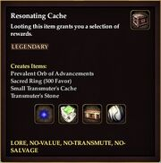 Resonating Cache