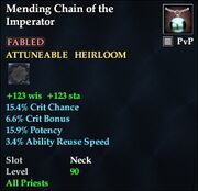 Mending Chain of the Imperator