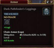 Dark Pathfinder's Leggings