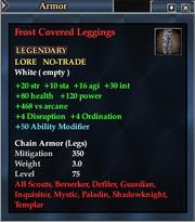 Frost Covered Leggings