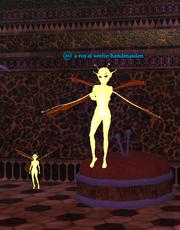 A royal seelie handmaiden