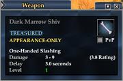 Dark Marrow Shiv