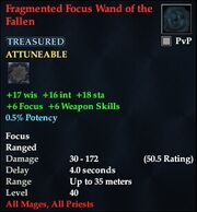 Fragmented Focus Wand of the Fallen