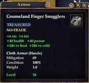 Gnomeland Finger Snugglers