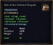 Belt of the Outland Brigade