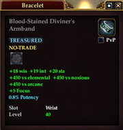 Blood-Stained Diviner's Armband