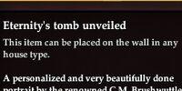 Eternity's tomb unveiled