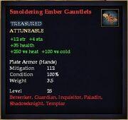 Smoldering Ember Gauntlets