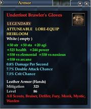 Underfoot Brawler's Gloves