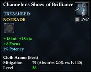 Channeler's Shoes of Brilliance