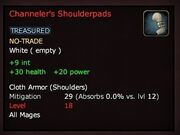 Channeler's Shoulderpads